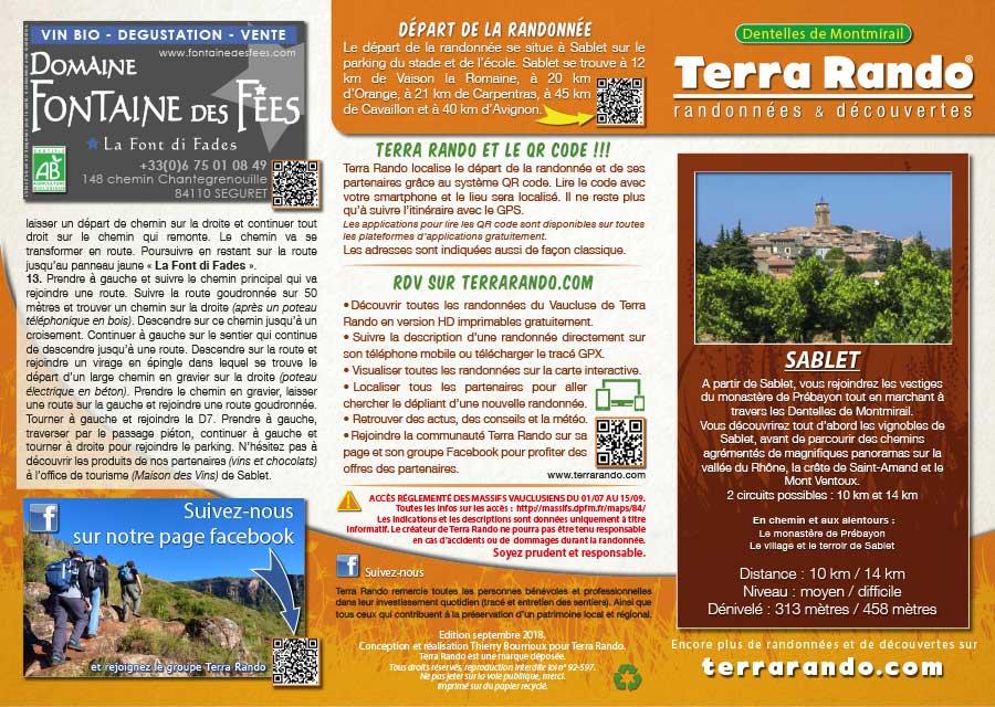 9a7a482c0277 La randonnée pédestre de Sablet dans le Vaucluse - terrarando