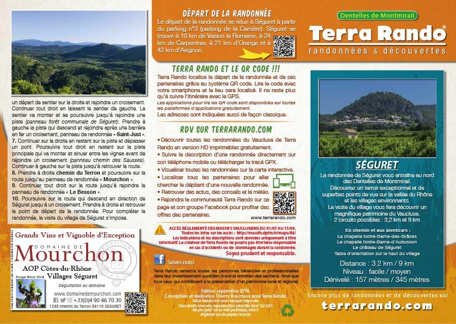 fb496e130314 La randonnée pédestre de Séguret dans le Vaucluse - terrarando